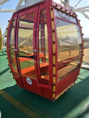 Gondola Of 88m Carnival Ferris Wheel For Sale
