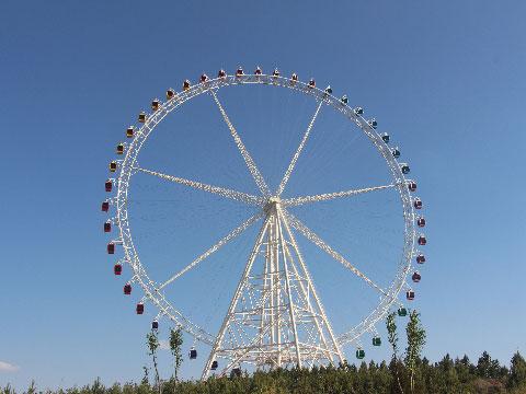 89m Amusement Park Ferris Wheel For Sale In Beston