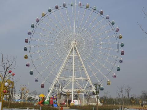 66m Amusement Park Ferris Wheel For Sale At Low Price In Beston