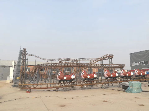 Crazy Mouse Family Roller Coasters For Sale In Beston Factory