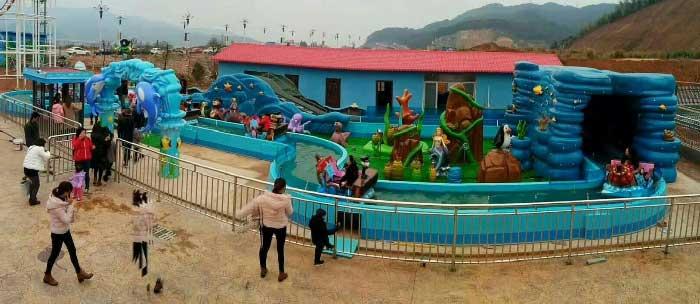 Kiddie Amusemeny Rides - Ocean Drifting Amusement Ride For Sale