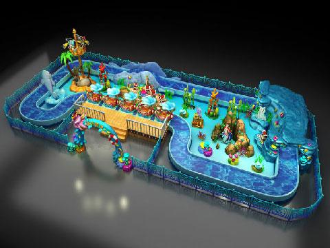Ocean Drifting Amusement Ride - Beston Kiddie Rides