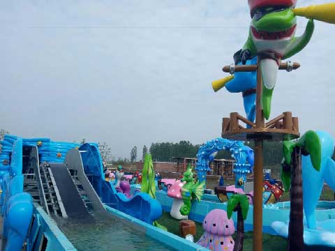 Ocean Drifting Amusement Ride For Sale - Kiddie Rides
