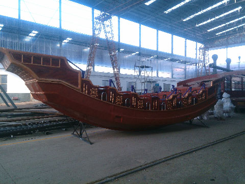Pirate Ship Ride For Sale In Beston Factory