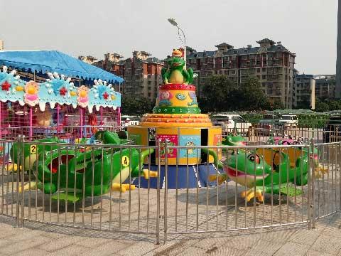 Techno Frog Jump Amusement Rides For Sale In Beston Supplier