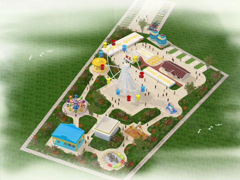 BNPD 02 - Amusement Park Design & Project - Beston Company