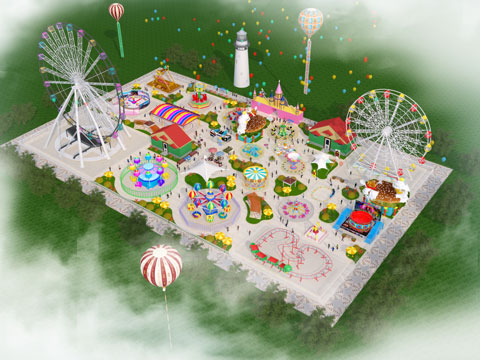 BNPD 03 - Amusement Park Design & Project - Beston Company