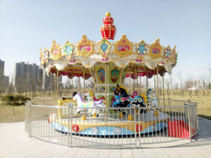 BNCR 01 - 16 Seats Luxury Carousel For Sale - Beston Factory
