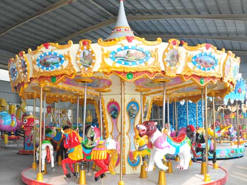 BNCR 07 - 16 Seats Beston Cheap Carousel For Sale - Beston Factory