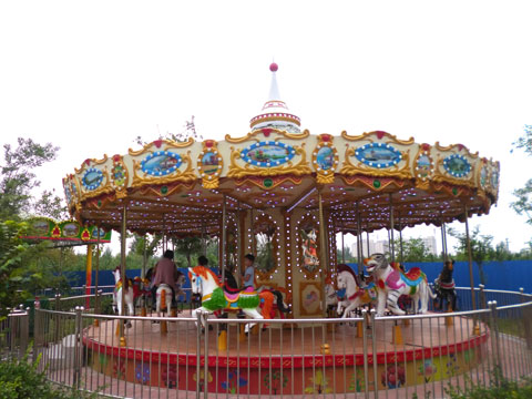 BNCR 11 - 24 Seats Cheap Carousel Ride For Sale - Beston Factory