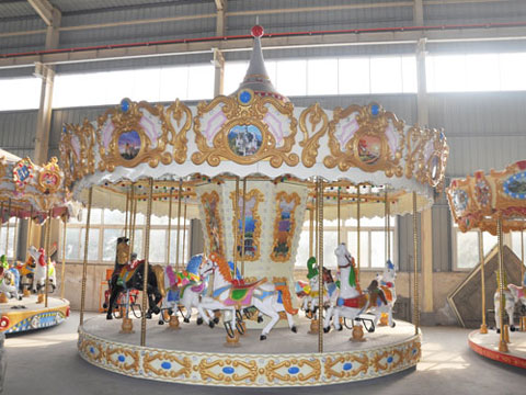 BNCR 01 - 16-Seat Luxury Carousel For Sale Kenya - Beston Supplier