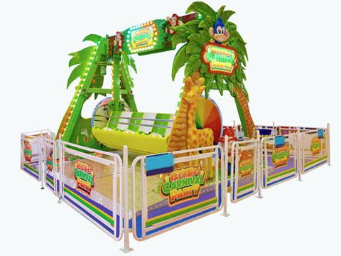BNHS 01 - Kiddie Happy Swing Ride For Sale Kenya - Beston Supplier