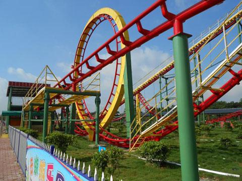 BNRC 01 - Three-loop Roller Coaster For Sale Kenya - Beston Supplier